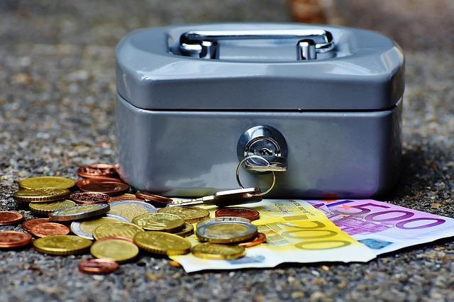 vydělané peníze