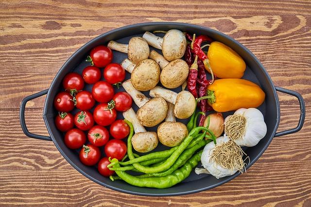 zelenina v hrnci
