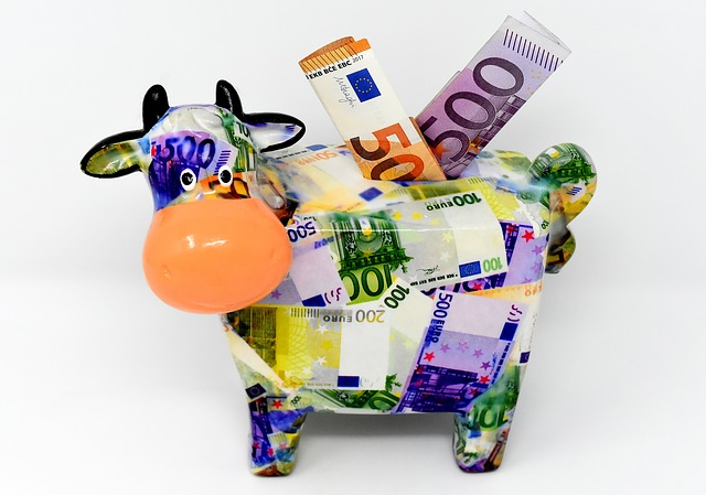 kravička na peníze