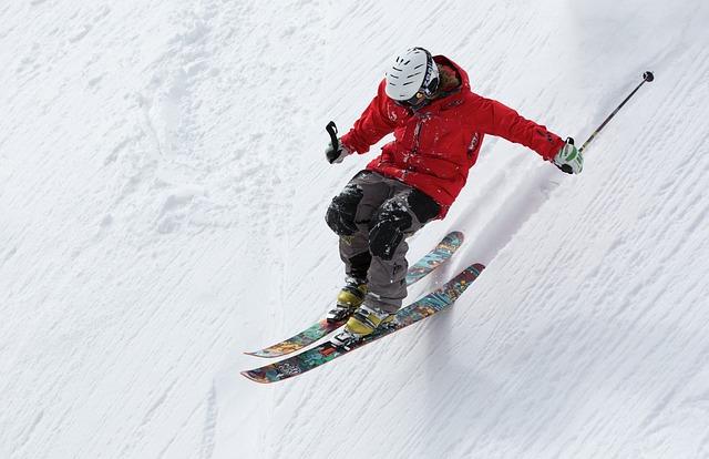 sjezd na lyžích