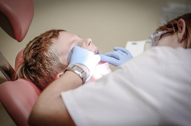 zubní prohlídka