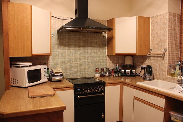 čistá kuchyň je základ vaření